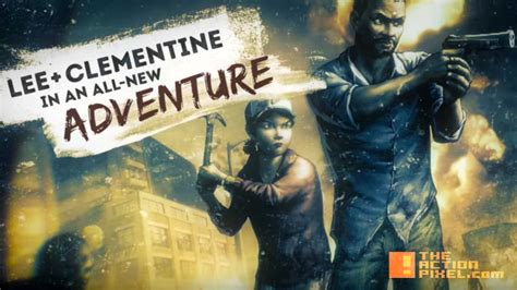 """""""Walking Dead: Road to Survival"""" features Lee + Clementine ..."""