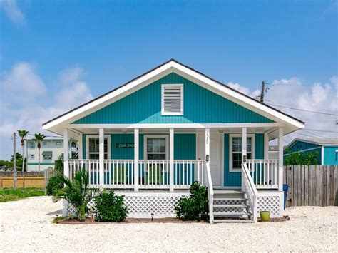 Aqua Colored Home Decor: Charming 2BR Coastal Port Aransas Home, Min...