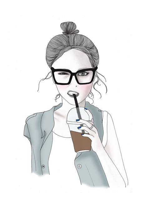 hipster girl drawing tumblr tag beautiful drawings