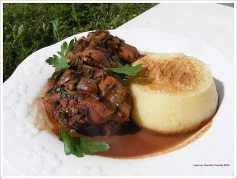 cuisine le lapin cuisine et cagne de le lapin au chocolat