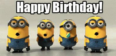 Minions Birthday GIF - Birthday Happybirthday Gif ...
