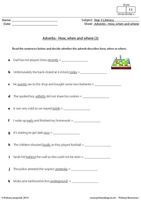 worksheet for year 5 english livinghealthybulletin