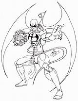 Fist Iron Coloring Pages Deviantart Christmas Gift Sketch Printable Popular Comics Getcolorings Template sketch template