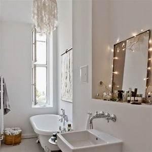 les 25 meilleures idees de la categorie rideau lumineux With carrelage adhesif salle de bain avec guirlande led lumineuse