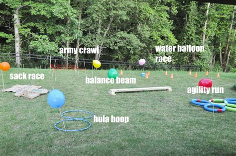 backyard obstacle course how to create a backyard obstacle course for your