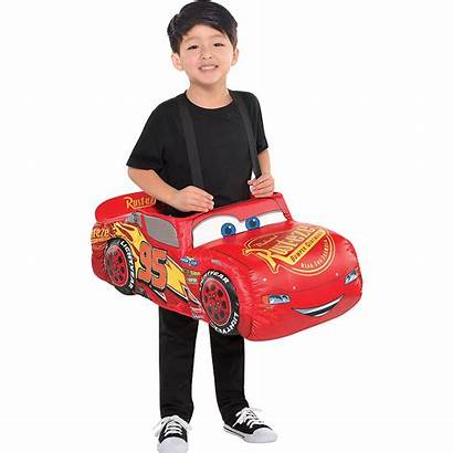 Mcqueen Lightning Costume Cars Ride Boys Party