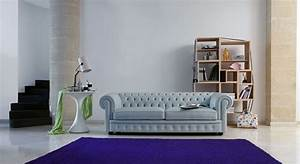le canape chesterfield un modele toujours en vogue With tapis design avec grand canapé chesterfield