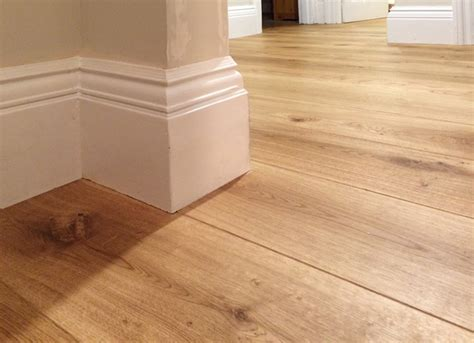 fitting wood flooring skirting boards oak