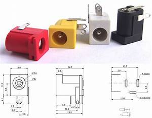 Dc Power Jack Socket 2 1mm Barrel