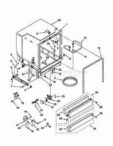 Wiring Diagram  31 Kenmore Dishwasher Model 665 Parts Diagram