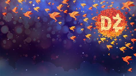 origami illustration wallpapers hd wallpapers id