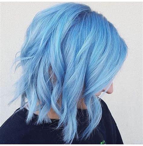 Light Hair Dye by 35 Fresh New Light Blue Hair Color Ideas For Trendsetters