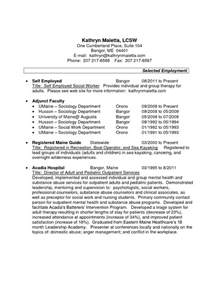 resume for self employed contractor resume exles for self employed person you can make