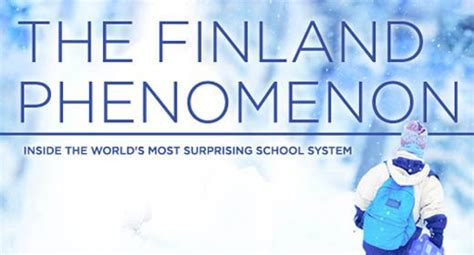 the education revolution 500   finland phenomenon