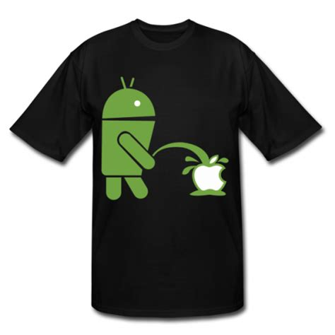 show  android love apple hate   tshirt