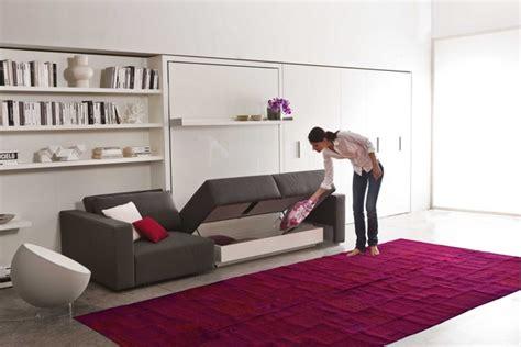 meuble bibliothèque bureau intégré lit escamotable modèle swing 3 esprit rangement