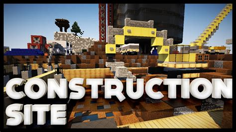 Minecraft - Construction Site - YouTube
