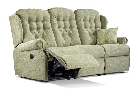 3 Seater Settees by Lynton Standard Fabric Reclining 3 Seater Settee