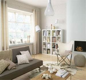 Decoration salon peinture couleur blanc casse canape gris for Attractive commentaire faire une couleur beige 7 chambre en bleu et blanc