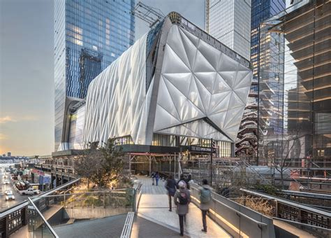 the shed the shed diller scofidio renfro archello