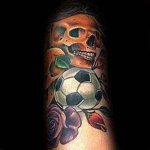 90 Soccer Tattoos For Men - Sporting Ink Design Ideas