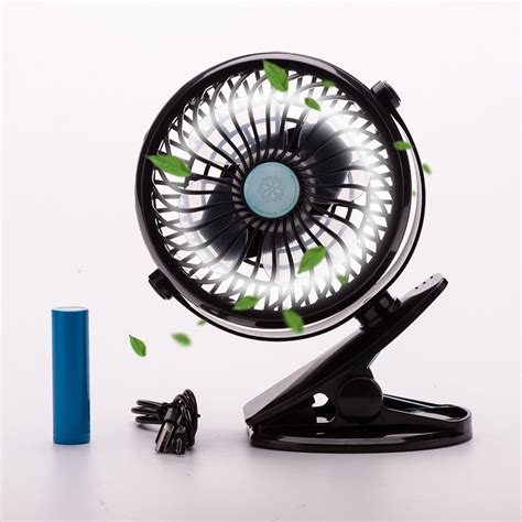 aa battery operated table fans rechargeable battery operated clip mini desk fan usb