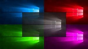 Windows 10 all Colors