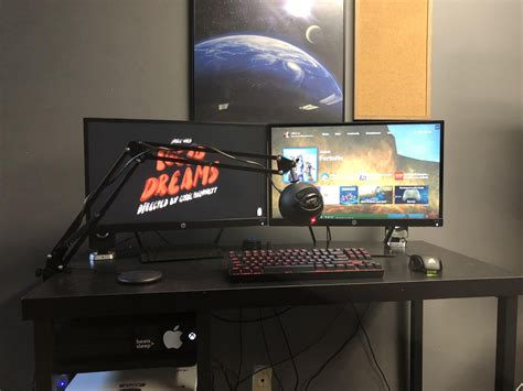 Whether you're a pc user, an xbox or ps4 user, playing comfortably on your gaming chair is one thing, but playing in your very own game room takes it to an. Best Trending Gaming Setup Ideas #ideas #PS4 #bedroom #Xbox #mancaves #computers #DIY #Desks # ...