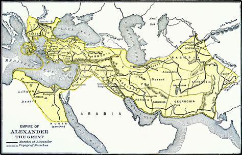 map   empire  alexander  great