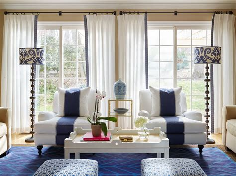 kraus designs blue and white living room a before and waaaaay after