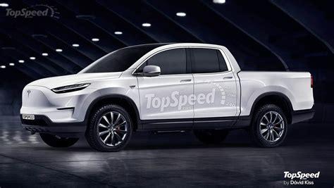 Tesla Pickup Truck Actually Looks Very Logical And