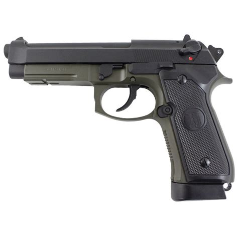 KJ Works M9A1 CO2 Blowback Airsoft Pistol   camouflage.ca
