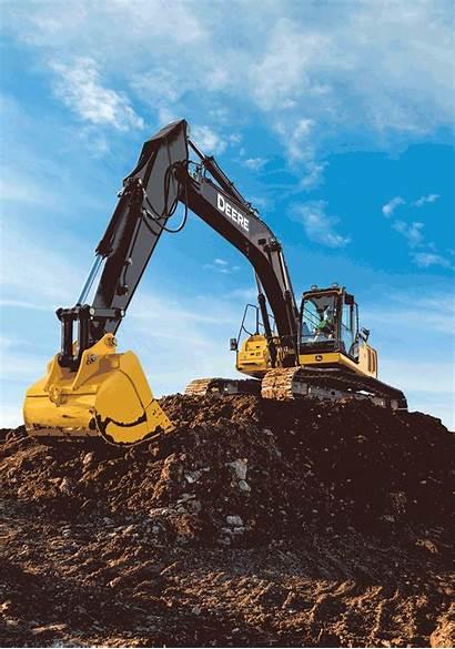 Equipment Heavy Construction Excavator Deere John Wallpapers