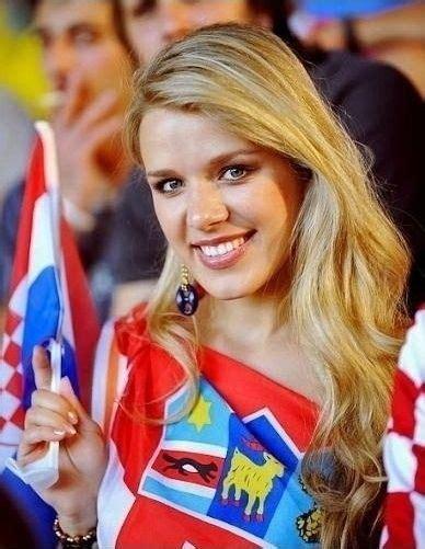 Croatian Soccer Fan Yes Beautiful Game World