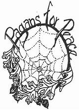 Wicca Peace Drawing Pagans Getdrawings Wagar Sam Tradition sketch template