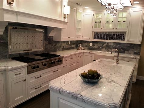 Kitchens Oak Cabinets With White Granite Trends And
