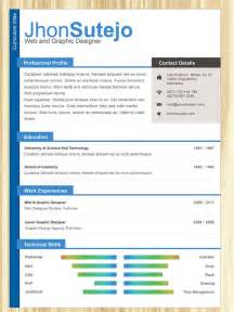 curriculum vitae templates for word top 10 free resume templates for web designers