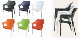 Fauteuil En Plastique : fauteuil rotin plastique ftrotn003 ~ Edinachiropracticcenter.com Idées de Décoration