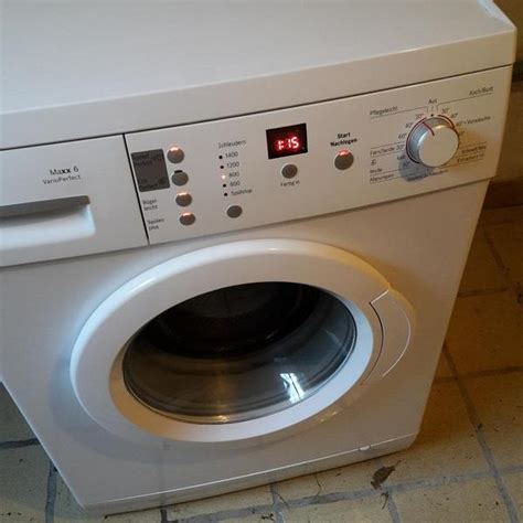 bosch maxx 6 varioperfect waschmaschine a 6kg in aalen waschmaschinen kaufen und verkaufen
