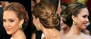Hairstyles: Jessica Alba Hair Updo