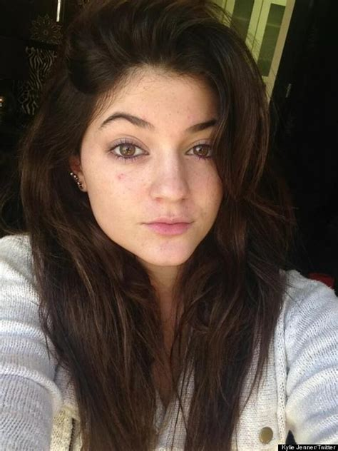 Kylie Jenner's No Makeup Look Is Fresh (PHOTO)   HuffPost