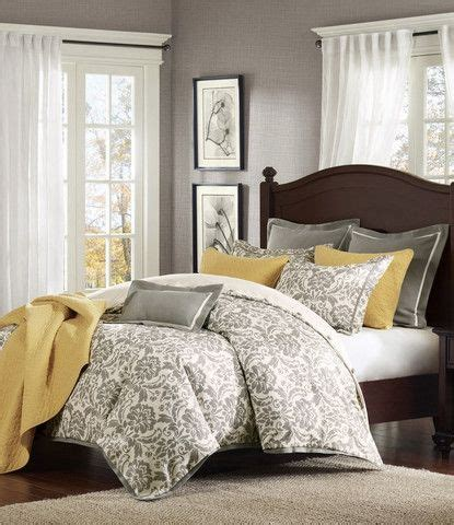 rhoades grey damask comforter set master bedroom ideas