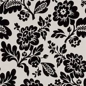Black And White Floral Pattern Wallpaper Pictures to Pin ...