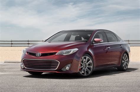 toyota avalon trd edition  test motortrend