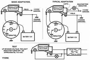 Bosch Voltage Regulator Wiring Diagram
