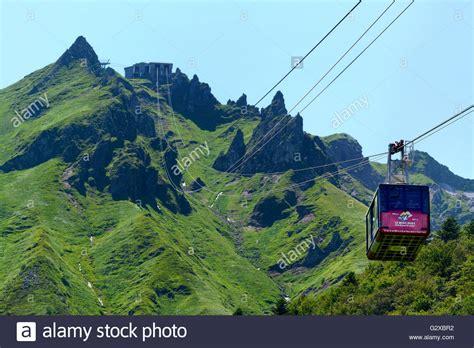 meteociel le mont dore cable car mont dore massif du sancy regional nature park of the stock photo royalty free