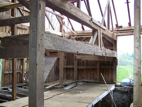 Old Timber Frame Barns