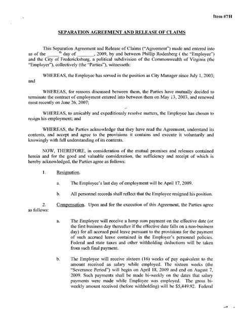 virginia separation agreement template dorable separation agreement ontario template ideas exle resume and template ideas