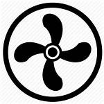 Ventilation Icon Climate Vint Cooler Icons Brand