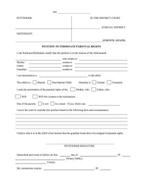 signing parental rights if a child is being neglected or mistreated a petitioner can use this form to request the